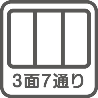 3面7通り